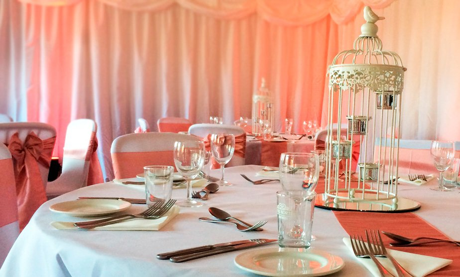 Wedding decoration in Rugby