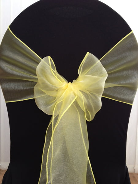 Hire Organza Sashes Deans Chair Covers Northamptonshire
