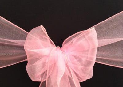Raspberry Pink Organza Sash