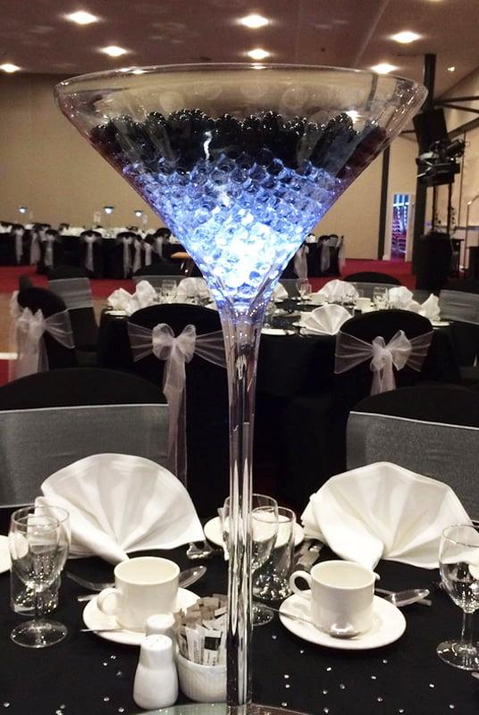 60cm tall Martini Vase