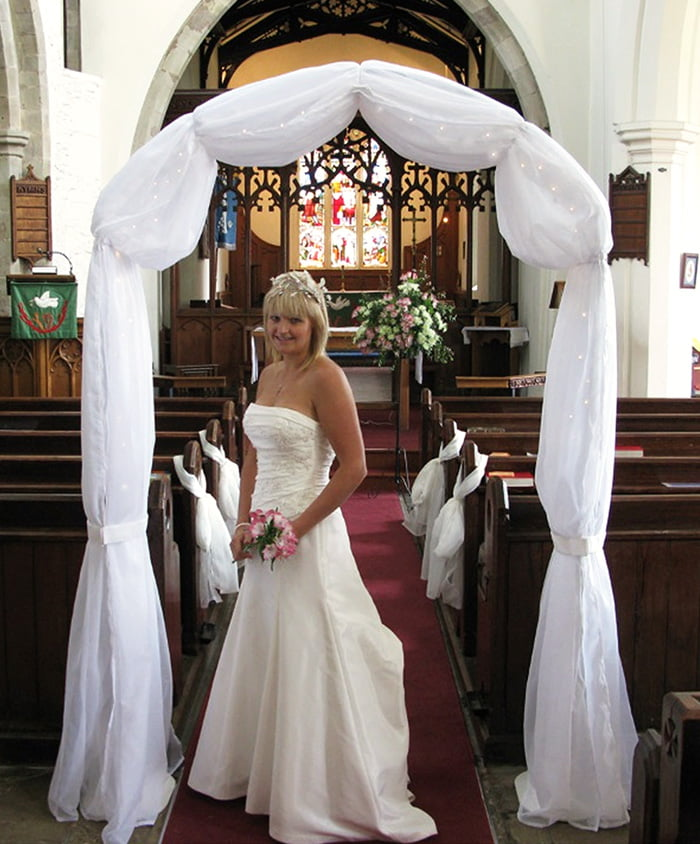 Starlight wedding arch hire
