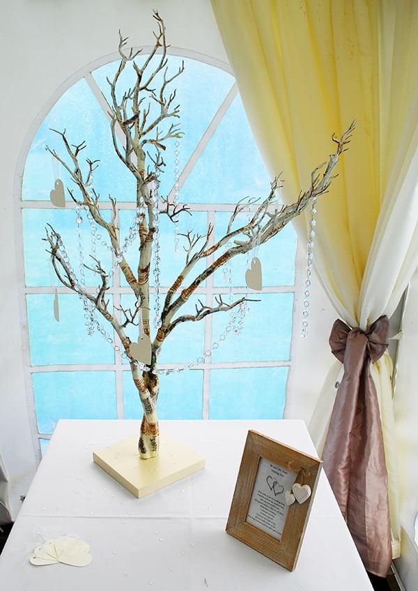 Wedding wishing tree hire