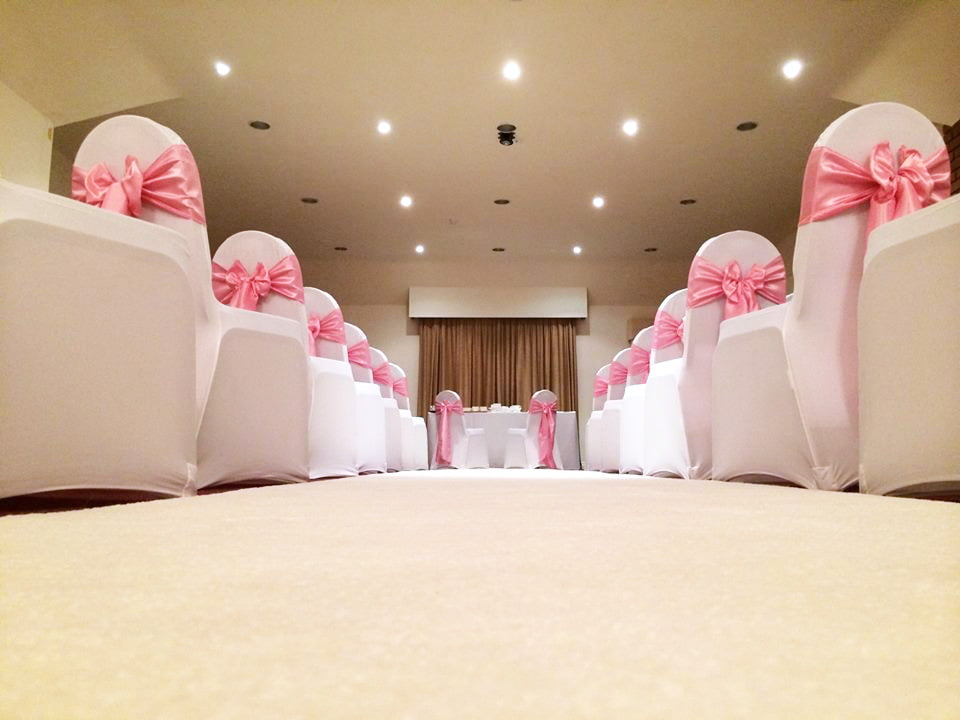 White Aisle Runner Hire Northamptonshire