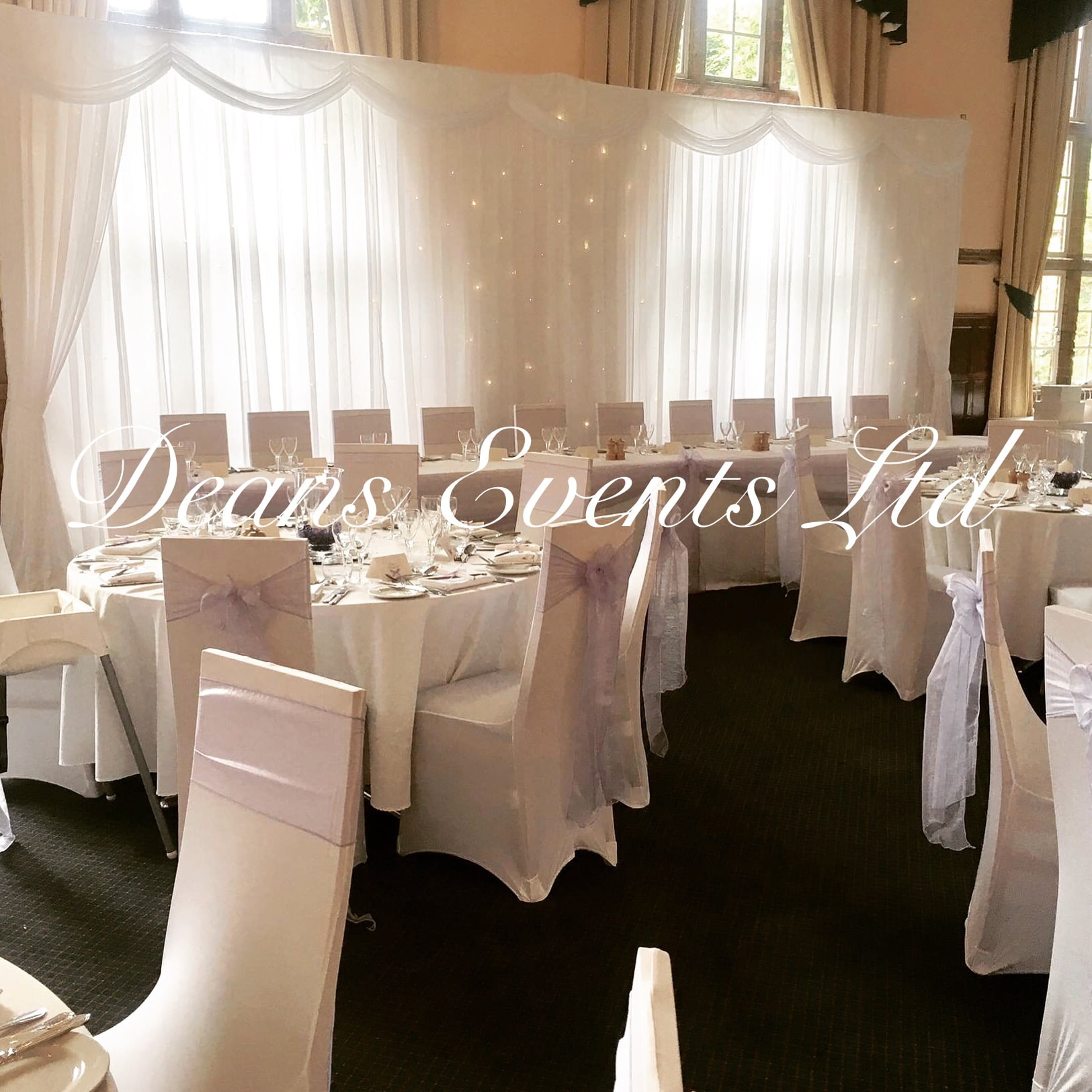 Wedding Chair Cover Gallery