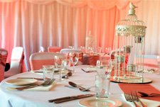 Transform your venue with full room drapes