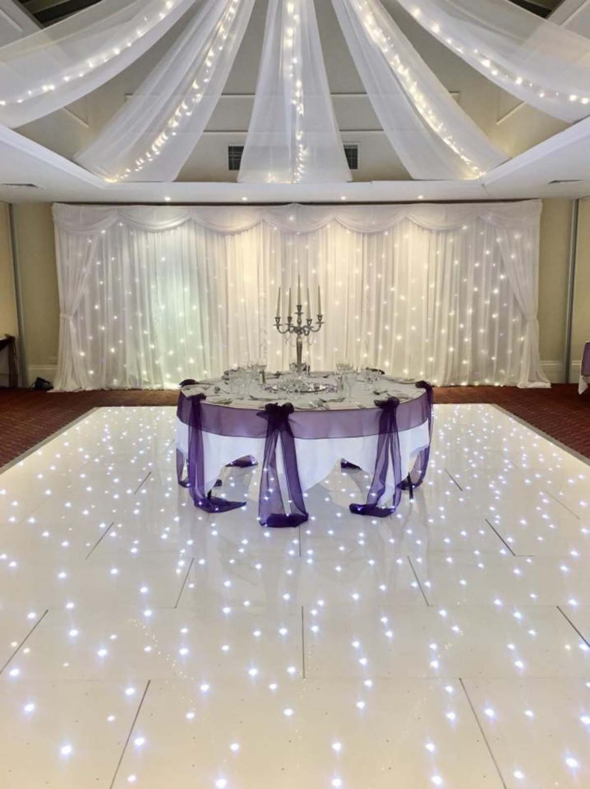 Starlight LED Dance Floor Hire